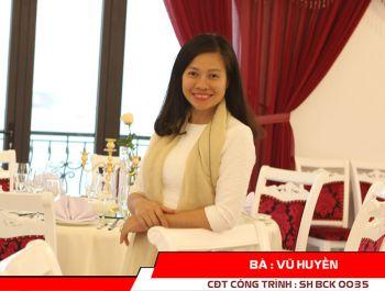 Bà Vũ Huyền - CEO Nhà hàng HUG